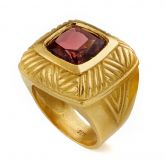 Tourmaline Seal Cuchion Ring